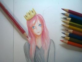 #1 Colour Pencils Practice by AOBAN