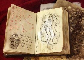 Cthulhu Cultist Journal Interior by JasonMcKittrick