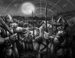 Orcs in Grey by Stungeon