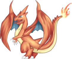 Charizard - Mega Evolution by TaNa-Jo