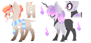 ~Adoptable~ Ponies 110-111 :CLOSED: by Xanty-Adopts