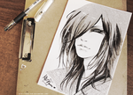 The Gazette - Uruha by KaZe-pOn
