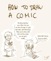How to Draw A Comic by Bluesette