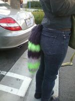 Yarn Tail:Side View by SiliaHollow
