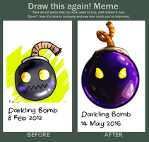 Draw This Again: Proj. Chaplaincy Darkling Bomb by troisnyxetienne