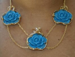 Blue Rose of Romany by amazonite