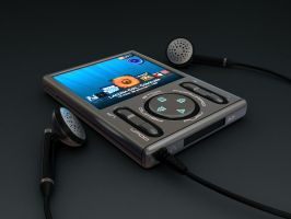 mp3 Player by Alienmatos