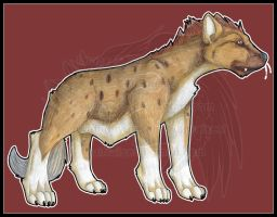 Feral: Spotted Hyena 2013 by AirRaiser