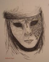 Venetian mask by saphireta
