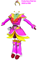 MMD- Pretty Cure Pink Set -DL by MMDFakewings18
