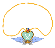 Hebe Angel  Necklace by Butterfly--Empress
