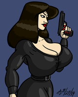 Agent Natasha by ArchangelDreadnought