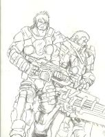 Gears of War: Tremor Unit by Monsterking777