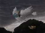 A strange low storm by Yufika