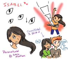 Isabel Doodles by fire-inferno