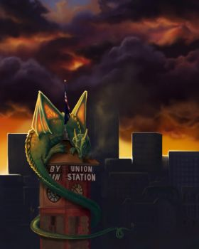 The Dragon of Union Station by rflaum