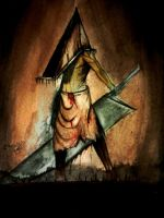 Pyramid head by crowleyboy