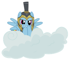 Commander Hurricane On Her Cloud by Scourge707
