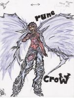 RUNE CROW -color- by BladenCross13