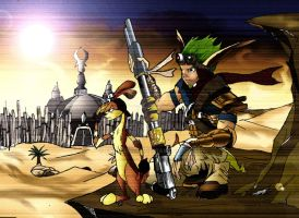 jak and daxter by endpoint76