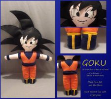 Goku by EddieDoezSewing