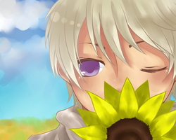 The Russian's dream of Sunflower by youcchi