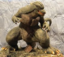 Always Godzilla Diorama: Stomping is My Game by Legrandzilla