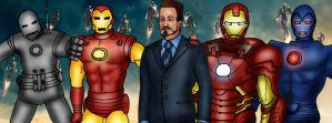 Iron Man 50th Anniversary by njferns