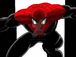 Superior Spider-Man - full digital drawing by chrismas-81