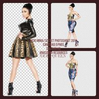 PACK PNG NICKI MINAJ SECRET PHOTOSHOOT 2014 by SuperBassPngs2