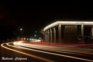 Redlands, California - City Hall by FellowPhotographer