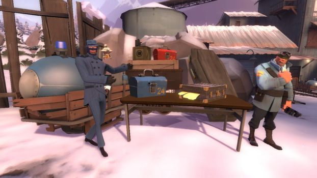 Greedy Spy Incorporated by Salvage-98