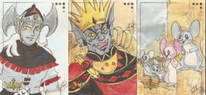 Voltron cards 2 by AmberStoneArt
