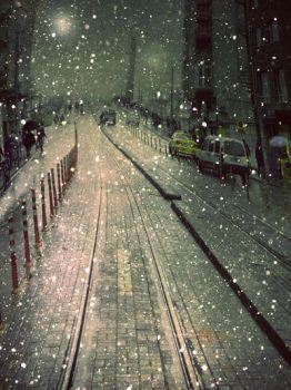 .:winter nightIII:. by hayal25