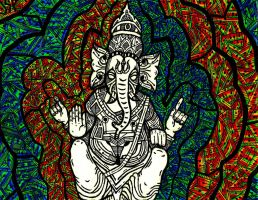 Realm of Ganesha by Psyconaut419
