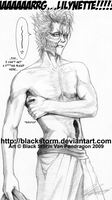 GRIMMJOW: Itch n restless by blackstorm