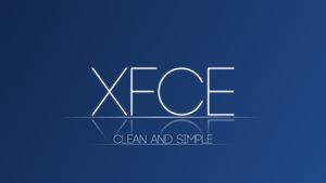 Clean and Simple XFCE Wallpaper by DefectiveDre