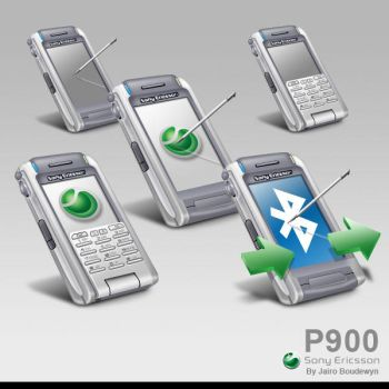 SonyEricsson P900 Icons by weboso