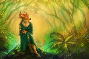 The Silent Forest by Maquenda