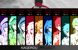 Kagerou Project by GrayAngel15