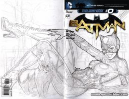 Catwoman cover WIP by gb2k