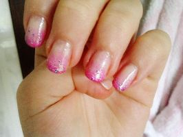Barbie Nails by KittenMews