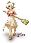 A clean house is a happy home by griff-chii