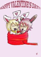 ((OOC)) CroMa Valentine's Day Card!!! by Ask-CronaMakenshi