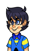 Stuck at 666 : John Egbert Talksprite by PONYPUKE