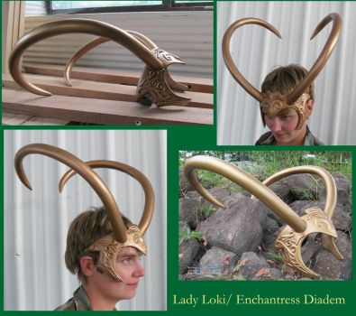 Lady Loki- Enchantress Diadem by InKibus