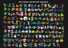 Sixth generation shiny pokedex X Y by Lendsei on DeviantArt