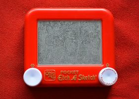 Pocket Doodle Etch A Sketch by pikajane
