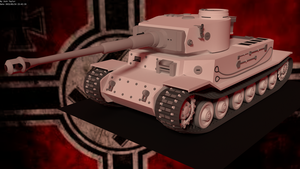 Tiger P (VK 45.01 P) by BeardyJosh