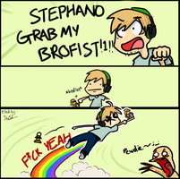 Grab My BROFIST! MEME by NSYee36